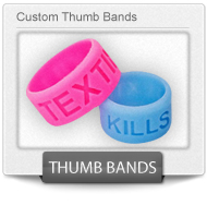 Custom Silicone Thumb Bands